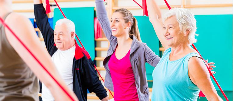 Clinica Cauchioli - Blog - Fisioterapia na melhor idade