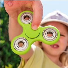 Fidget Spinner: a nova mania entre as crianças
